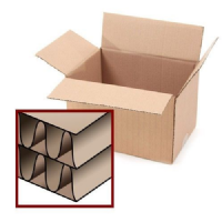 "Large Double Wall 24x18x18"" Removal Storage Cardboard Boxes"